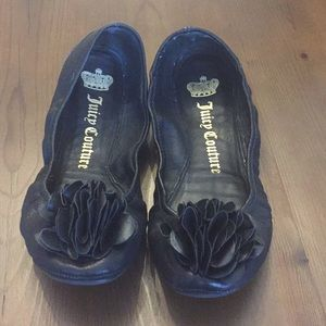 Pre-loved Juicy Couture Flats w/ Embellishment - 7